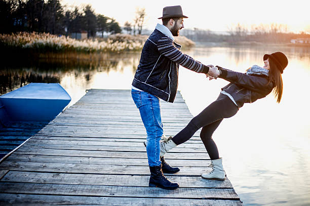 Trust Fall Couple